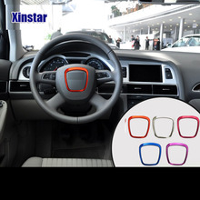 Sline RS car steering wheel deocration for audi A4 A5 A6 Q7 Q5(China)