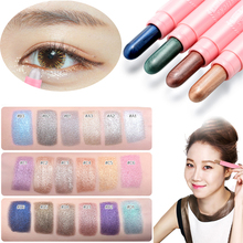 Brand Eyeshadow Cosmetics 18colors Glitter Eyes Makeup Eye Shadow White Gold Shimmer Single Eyeshadow Pen