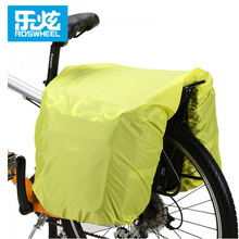 ROSWHEEL Cycling Bag Rain Cover for 14236/14024/14541 Bike Rear Tail Bag Rain Covers Waterproof  Plastic Rack Trunk Bag