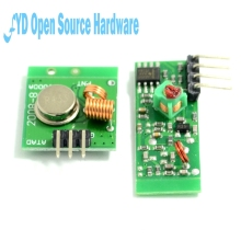 Smart Electronics 433Mhz RF transmitter receiver Module link kit /ARM/MCU WL diy 315MHZ/433MHZ wireless
