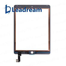 Leadream 10 Pcs/lot Top Quality Touch screen for iPad Air 2 Touch Screen Digitizer Front Glass Replacement Free DHL(China)