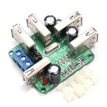 USB2.0 HUB Data Concentrator Module Hub USB Expansion Board Self-Supply+Bus Supply GL850G Memory Module(China)