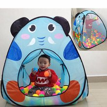 Kids Lovely Play House Tent Portable Foldable Folding Tent Toys For Children Boy Castle Play House Kids Gifts Outdoor Toy Tents