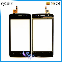 SYRINX 4.0'' Touch Screen For FLY FS404 STRATUS 3 FS 404 Sensor Touchscreen Front Glass Panel Mobile Phone Accessories(China)