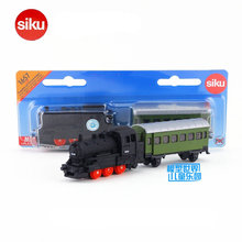 Free Shipping/Siku 1657 Toy/Diecast Metal Model/1:120 Scale Car/Steam Train and Carriage/Educational Collection/Gift/Kid/Small(China)