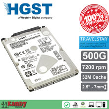 HGST Travelstar 500G hdd 2.5 HTS725050A7E630 SATA 3 laptop internal sabit hard disk drive interno hd notebook harddisk disque(China)