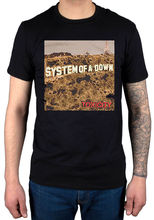 2017 Hot Sales System Of A Down Toxicity T Shirt Soad System New Merch Serj Tankian T Shirt Hipster O-Neck Cool Tops 2017(China)