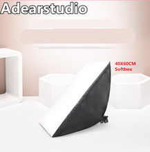 photography softbox light kit photo stand photo E27 bulb softbox 40*60cm photographic equipment softbox CD50
