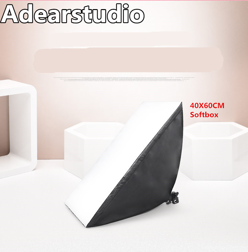photography softbox 110v-220v light kit photo stand photo E27 bulb softbox 40*60cm photographic equipment softbox CD50(China (Mainland))