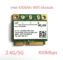 Dual Band 450 Мбит/с Wi-Fi WLAN для Intel 6300 633 622anhmw Беспроводной-n 802.11a/G/N Мини pci-e карты для Acer ASUS Dell Toshiba(China)
