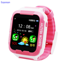 Espanson C3 Child Smartwatch IP67 Swim waterproof Phone smart watch SOS Call Location Device Tracker Kids Safe Anti-Lost Monitor(China)