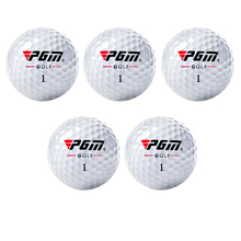 PGM Outdoor Sport Golf Game Training Match Competition Rubber Three Layers High Grade Golf Ball White