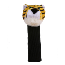 Promotion 1pcs Golf Club Headcover Plush Cute Cartoon Tiger Bar Head Protection Covers Golf Club Heads Accessories High Quality(China)