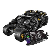 Lepin 76023 The Batman Armored Chariot 1969Pcs Mini Bricks DC Super Heroes Racing Vehicle Building Blocks Toys For Children