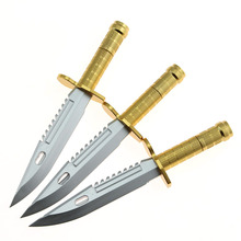 3 Piece Lytwtw's Korean Stationery Office Supplies Creative Cute Knife Sword Style Ballpoint Pen(China)