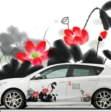 Creative Waterproof Sunscreen Chinese Classical Car Decoration Stickers Drift Sticker Protective Change Color Film