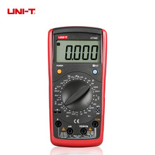 UNI-T UT39E General Manual Range Digital Multimeters 19999 Count Transistor Resistance Capacitance Frequency Meter(China)