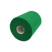 6inch x 100yards Green Tulle Spool Mesh Organza Roll Ribbon DIY Tutu Wedding Favours Party Gift Bow Cratf Decoration 15CM x 92M