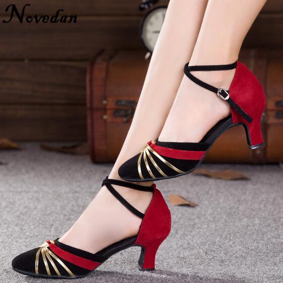 DB24225 closed toe latin salsa dance shoes-19_