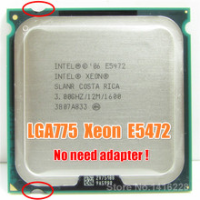 Xeon E5472 Processor 3.0GHz/12M/1600 Works on LGA 775 motherboard close to LGA775 Core 2 Quad Q9650 CPU(China)