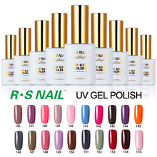R.S 15ml uv color gel nail polish unhas de gel lucky set of nail soak off gel nail lacquers varnish glue professional harmony(China)