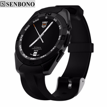 SENBONO NO.1 G5 Smart Watch MTK2502 Smartwatch Heart Rate Monitor Fitness Tracker Call SMS Reminder Camera for Android iOS