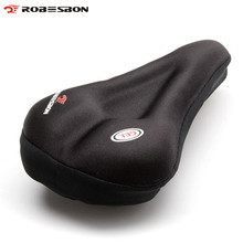 ROBESBON Thickened Silicone Bicycle Seat Cover Bike Cushion Saddle Cover Gel Pad Saddle Racing Road Cycling Bike Saddle Cushion