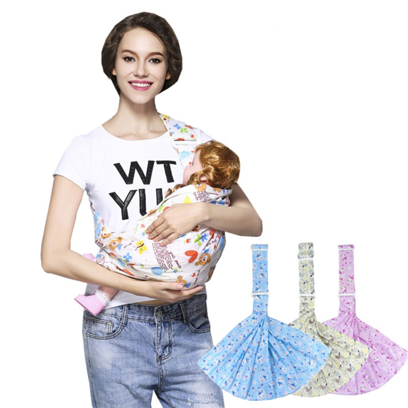newborn breast feeding soft infant wrap activity gear carriers pouch sling baby pouch carrier backpack front facing breathable