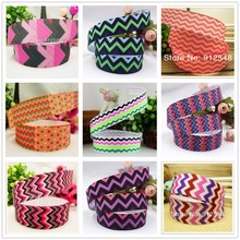 hot sale 7/8''(22mm) Wave 2-color Polyester Grosgrain Ribbon,Clothing accessories,DIY handmade materials.