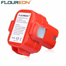 FLOUREON 9.6V 2000mAh Rechargeable Battery Pack Power Tool Battery Cordless Drill for Makita 9120 9122 PA09 6207D Ni-CD Bateria