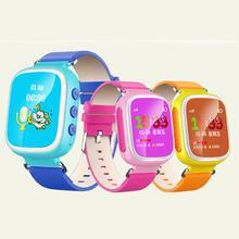 2017 Tracker Часы для Детей Безопасный Gps-часы Q80 смарт наручные часы SOS Вызова Finder Locator Tracker Anti Потерянный Монитор Детей подарки