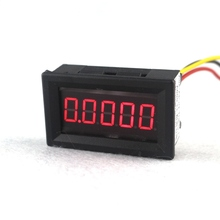 "High Accuracy 0.36"" 5 Digits DC 0-33.000V Digital Voltmeter Volt Panel Meter Voltage with Red Led Free shipping(China)"