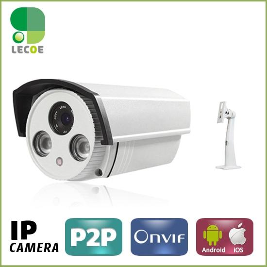 720P Bullet Securiy CCTV  IP camera,Onvif HD 6mm lens Camera  P2P Plug Play IR Cut Night Vision Waterproof Outdoor Indoor Camera<br>