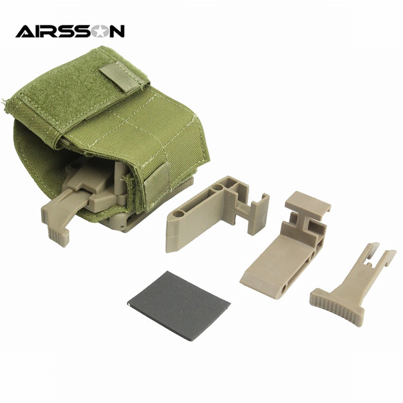 FMA TB1115 Universal Holster for Tactical Belt Outdoor Portable Multifunctional Accessory Pouch Military Molle EDC Utility Bag<br>