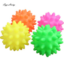 Dog Toys For Large Dogs 1 PC Beautiful New Rubber Ball Toy Dog Pet Fun Spikey Ball Biting Chewing And Toys Wholesale JA1