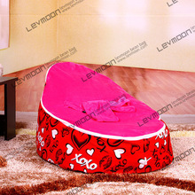 baby bean bag cover with 2pcs rose up cover bean bag baby baby bed bean bags pattern bean bag furniture FREE SHIPPING