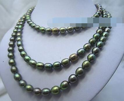 2 rangées AAA 6-7 mm NATURAL Akoya perle blanche Bracelet 14k Fermoir 7.5-8 pouces
