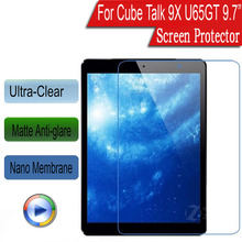 "Nano Soft Explosion-proof Style Protective Film For Cube Talk 9X U65GT 9.7"" Screen Protector (Not Tempered Glass)(China)"