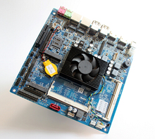 Incorporado Mini-itx Industrial Placa de CPU, ª i3-5010U Processador Onboard, 6 * RS232, 1 * GLAN, 8USB, 2 * HDMI, LVDS(China)