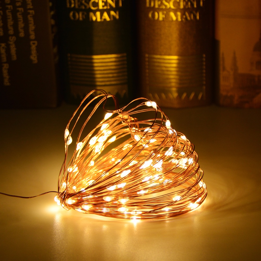 Battery Operated Pathway Star Lamp Home Decor Led String Lights Fairy Light