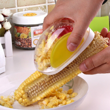 Hot New Useful Corn Stripper cutter Corn shaver Peeler Cooking tools Kitchen Cob Remover(China)