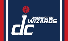 Washington Wizards team Flag Digital Printing colorful Banner 100D Polyester Flag with Metal Grommets 3x5FT customized flag
