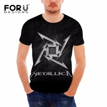 2017 Classic Heavy Metal Rock Metallica T Shirt men cotton short sleeve tees fashion summer style boy music tops brand Camisetas
