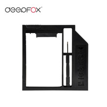 "Deepfox New 12.7mm Universal Plastic 2nd HDD Caddy 2.5"" SSD HDD Case SATA 3.0 For Laptop DVD/CD-ROM Optibay"