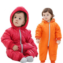 2016 Hot winter children down jacket baby girl clothes split style baby boy romper fashion baby clothes baby winter outwear DZ10(China)