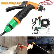 New Arrival DC 12V 36W Portable Car Cleaning Kit High Pressure Washer Pump Washing Gun(China)