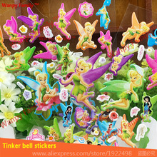 3D Cartoon Tinker Bell wall stickers ,Cute Angel Tinker Bell Fashion stickers For Kids Birthday Gift stickers