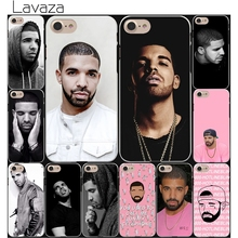Lavaza Drake Canada Hard White Coque Shell Phone Case for Apple iPhone 8 7 6 6S Plus 5 5S SE 5C 4S X 10 Cove(China)