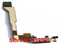 YUYOND For iphone 4 USB Dock Connector Charger Flex Cable CDMA Version Original New Black Wholesale 30pcs/lot(China)
