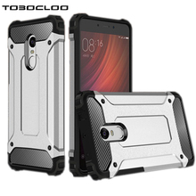 TOBOCLOO Case Heavy Duty Armor Slim For XiaoMi RedMi Note 4 4X Pro Prime Global Version Hard Tough Rubber Cover Silicone Cases(China)